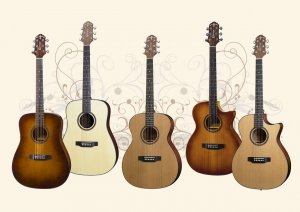 Crafter HiLITE Series Guitars